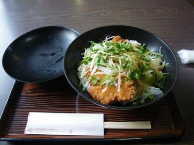 醤油カツ丼