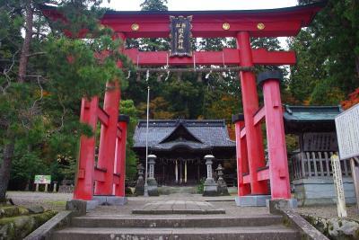 岡太神社(紅葉)