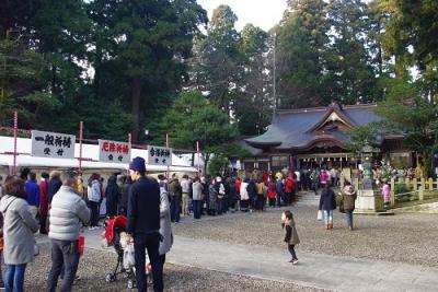 初詣 劍神社