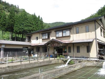 天池の宿(渓流釣り堀)